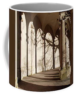 Coffee Mug featuring the photograph Shadows And Curves by Richard Bryce and Family
