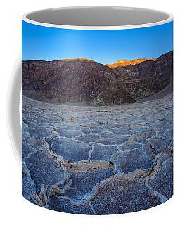 Shadows Fall Over Badwater Coffee Mug