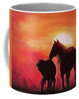 Shadows Of The Sun Coffee Mug