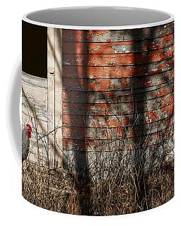 Shadows - Old Farmhouse - Hen Coffee Mug