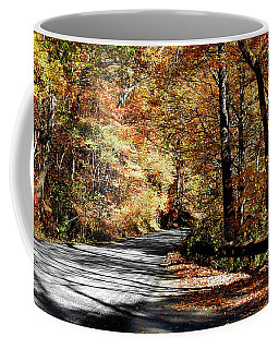 Shadows On The Road Coffee Mug