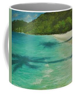 Shadows Over Magens Bay By Alan Zawacki Coffee Mug