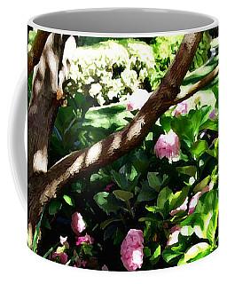 Coffee Mug featuring the photograph Shadows Through The Garden by Glenn McCarthy Art and Photography