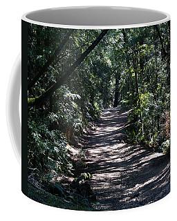 Shady Road On Mt Tamalpais Coffee Mug