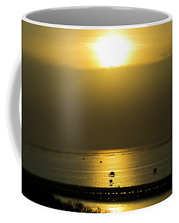 Coffee Mug featuring the photograph Shaft Of Gold by Ian Thompson
