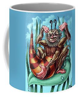 Shaggy Bumblebee  Coffee Mug