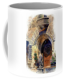 Coffee Mug featuring the painting Shaker Heights by Andrew King