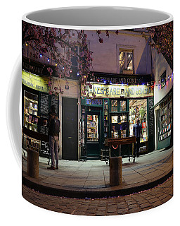 Coffee Mug featuring the photograph Shakespeare Book Shop 1 by Andrew Fare