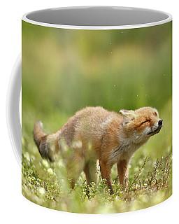 Shaking Fox Coffee Mug