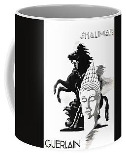 Coffee Mug featuring the digital art Shalimar by ReInVintaged