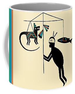 Shaman Dream Hunting Ritual Coffee Mug