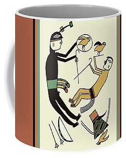 Shaman Hunting Ritual Dream Coffee Mug