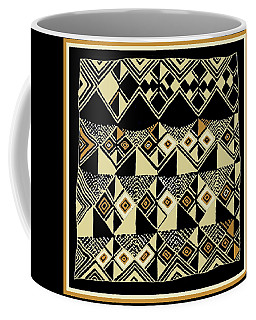 Shaman Tribal Kuba Coffee Mug