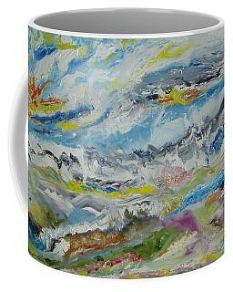 Shangri-la Triptych Part 2 Coffee Mug