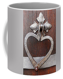 Coffee Mug featuring the photograph Shape Of My Heart by Juergen Weiss