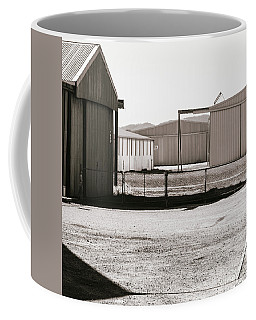 Coffee Mug featuring the photograph Shapes And Shadows by Linda Lees