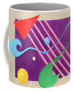 Shapes And Textures Coffee Mug