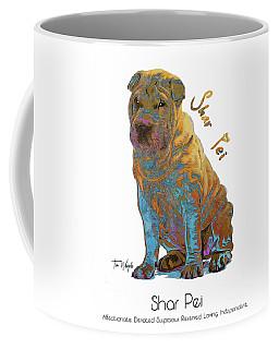 Shar Pei Pop Art Coffee Mug