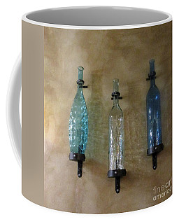 Coffee Mug featuring the photograph Share The Wine by Marie Neder