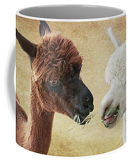 Sharing A Meal Coffee Mug