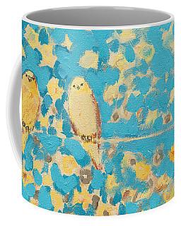 Sharing A Sunny Perch Coffee Mug