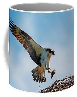 Sharing Lunch Coffee Mug