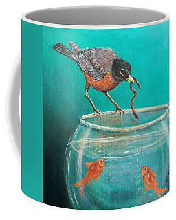 Sharing Coffee Mug by Susan DeLain