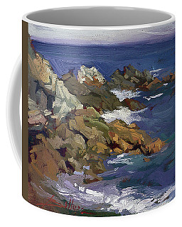 Shark Autumn Catalina  Plein Air Coffee Mug