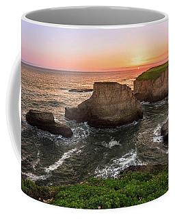 Shark Fin Cove Sunset Coffee Mug