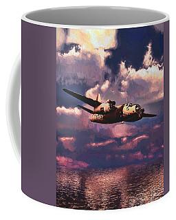 Shark On The Prowl Coffee Mug by Dave Luebbert