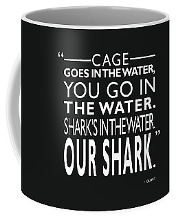 Sharks In The Water Coffee Mug