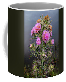 Sharp Thistle Coffee Mug