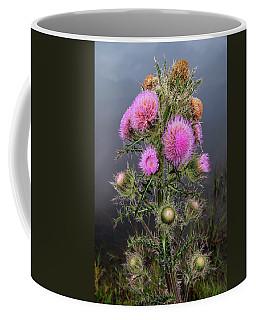 Sharp Thistle Coffee Mug by Arthur Dodd