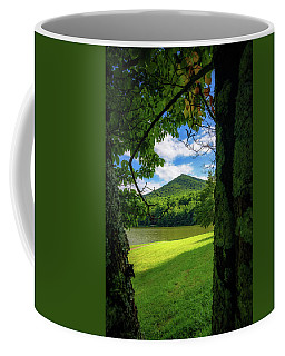 Sharp Top Through The Trees Coffee Mug