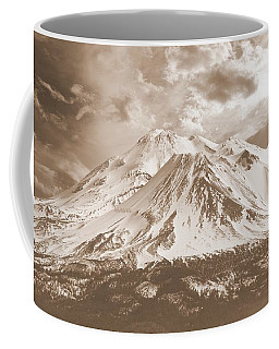 Coffee Mug featuring the photograph Shasta Mt by Athala Carole Bruckner