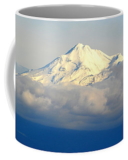 Shasta Near Sunset Coffee Mug by AJ Schibig