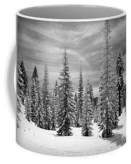 Shasta Snowtrees Coffee Mug