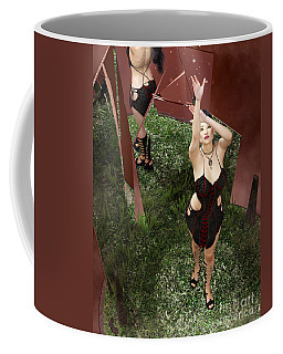 Shattered Reflection Coffee Mug