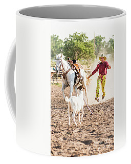 Shawnee Sagers Goat Roping Competition Coffee Mug