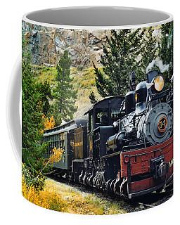 Shay On The Georgetown Loop Coffee Mug