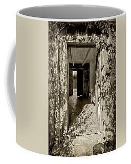Shdaows Of The Past - Sepia Coffee Mug