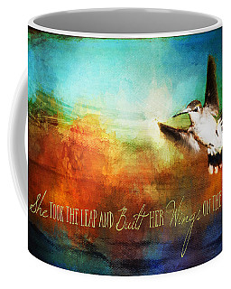 She Built Her Wings Coffee Mug