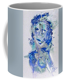 She Dreams In Blue Coffee Mug