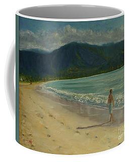 She Looks Straight Ahead Coffee Mug