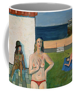 She Walks In Beauty Coffee Mug by Paul McKey