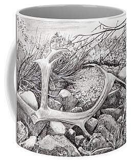 Shed Antler Coffee Mug