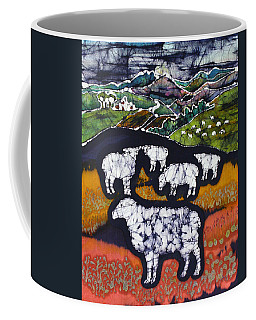 Sheep At Midnight Coffee Mug