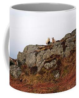 Sheep On A Rock Coffee Mug