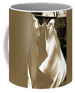 Sheets On The Line Coffee Mug