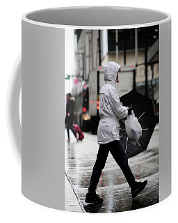 Coffee Mug featuring the photograph Sheild Of Rain  by Empty Wall